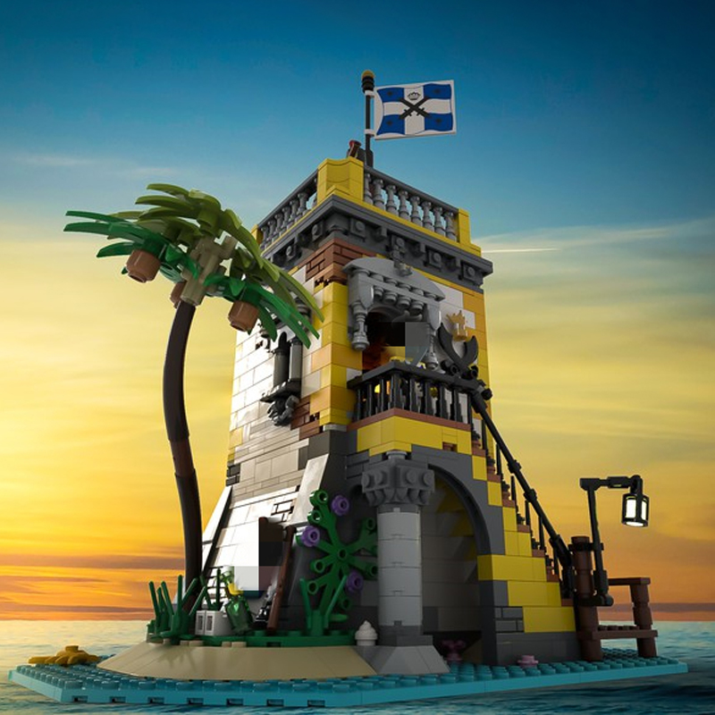 MOC 71657 Sabre Island Anno Domini 2021 Creator by SleeplessNight MOC FACTORY 2 - MOC FACTORY