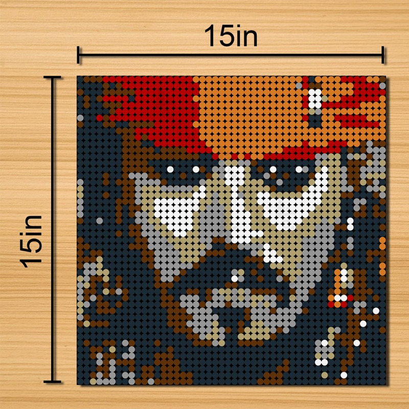 MOC 90110 Pirate Captain Pixel Art Movie MOC FACTORY 3 - MOC FACTORY