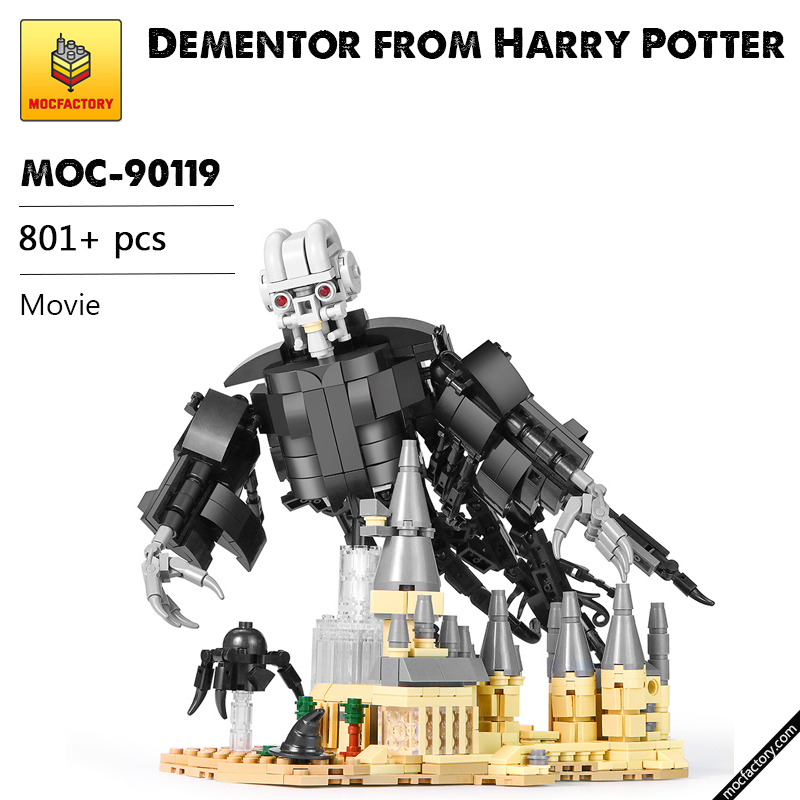 MOC 90119 Dementor from Harry Potter Movie MOC FACTORY - MOC FACTORY