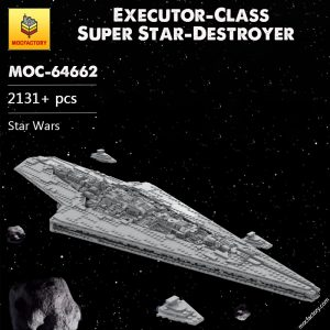 MOC 64662 Executor Class Super Star Destroyer Star Wars by Red5 Leader MOC FACTORY - MOC FACTORY