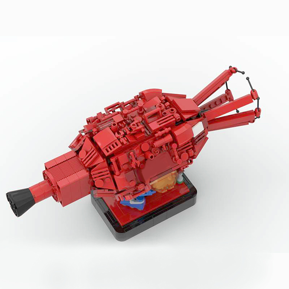 moc 43503 red dwarf and starbug space by 6211 moc factory 233238 - MOC FACTORY