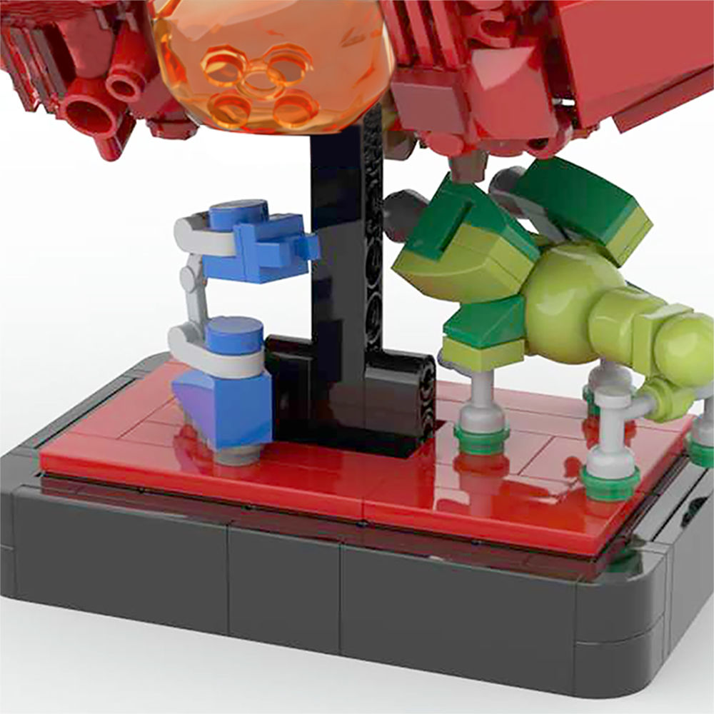 moc 43503 red dwarf and starbug space by 6211 moc factory 233241 - MOC FACTORY