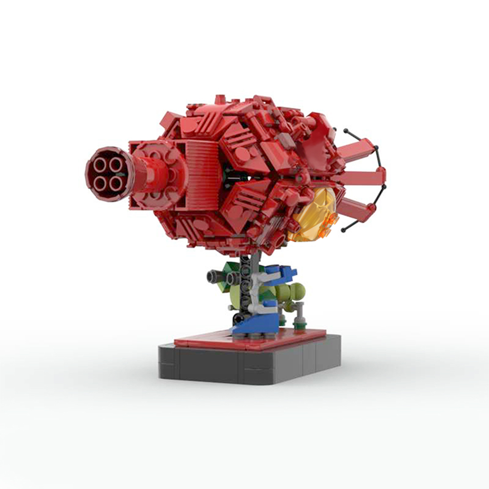 moc 43503 red dwarf and starbug space by 6211 moc factory 233244 - MOC FACTORY
