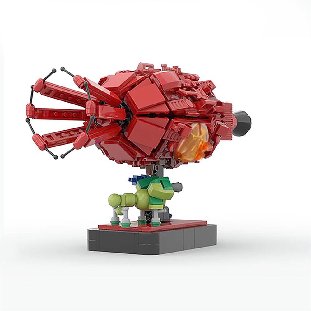 moc 43503 red dwarf and starbug space by 6211 moc factory 233248 - MOC FACTORY