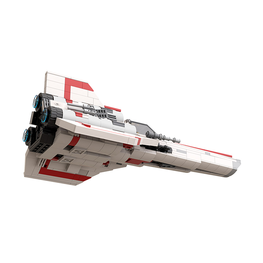 MOC-45112 Space Colonial Viper MK1 – Version 2.0 Space by apenello MOC FACTORY