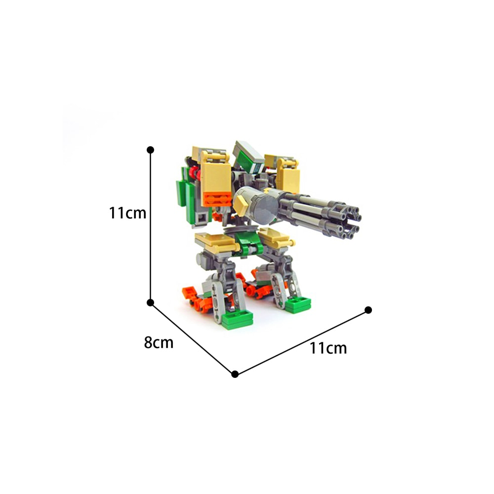 MOC-65928 Creator Bastion from Overwatch Designer  KMX Creations MOC FACTORY