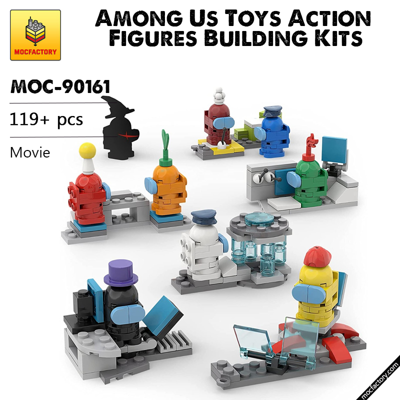 MOC-90161 Movie  Among Us Toys Action Figures Building Kits MOC FACTORY