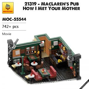 MOC 55544 21319 MacLarens Pub How I Met Your Mother Alternate Movie by febrix 1999 MOC FACTORY - MOC FACTORY