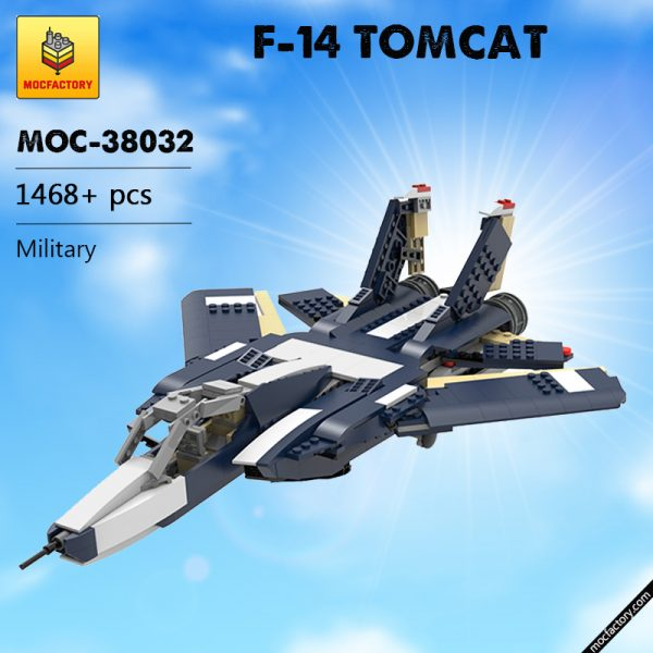 MOC 38032 F 14 TOMCAT Military by ale0794 MOC FACTORY - MOC FACTORY